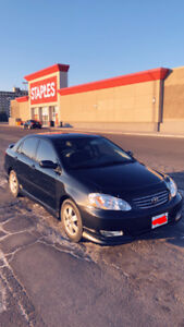 2004 Toyota Corolla s automatic very clean