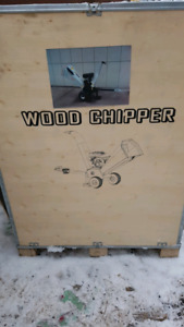 Tow behind Wood Chipper