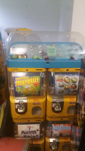Toy capsule or sticker machines