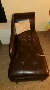 Leather Storage Couch