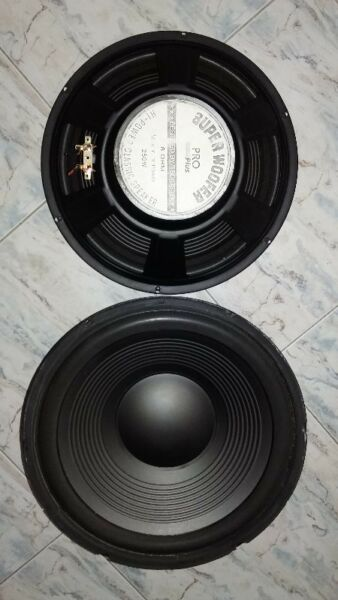 HI POWER CLASSIC PRO PLUS SPEAKERS 250 WATTS  TSO ( USA )