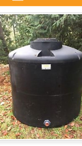 Water storage holding tank 1400 gallons