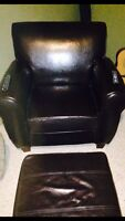Very nice comfortable chair with ottoman. Hardly used