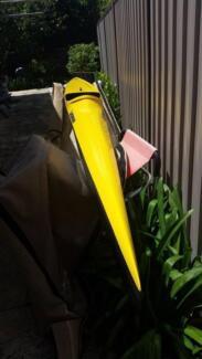 Lettman Vegas K1 Canoe - Carbon Fibre