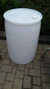 55 Gallon Closed Top Barrel / Drum Plastic
