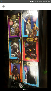 1997 Star Wars Puzzle & Coloring Books