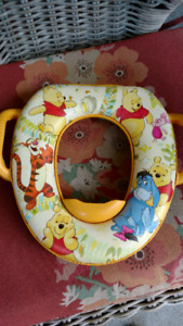 Winnie the Pooh potty cover