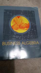 Uoit books -Custom business algebra