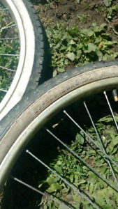 26 inch bicycle rims and tirea