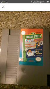 Sesame Street ABC For NES