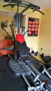 Bowflex ultimate 2 and all accessories