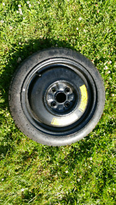 3 all season tires and 1 dummy tire