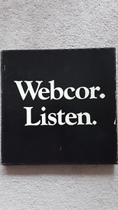 Record Albums from Webcor Set