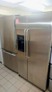 REFRIGERATEUR STAINLESS DOUBLE PORTE WHIRLPOOL
