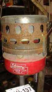 old coleman heater in excellent condition,& tons more antiques Belleville Belleville Area image 1