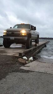 2002 Chevy Silverado 6.6 duramax lifted