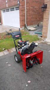 8HP/24IN. CRAFTSMAN SNOWBLOWER(TWO-STAGE)