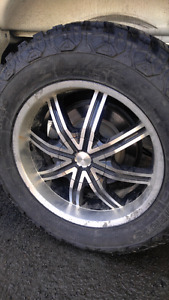 """20"""" rims with 275/65/20 tires"""