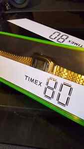 Timex 80 watch gold watch never used