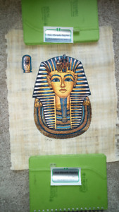 Selection of Genuine Egyptian Papyrus Pictures