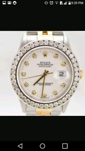 Rolex date just neuf unisex avec vrai crystal quality AAW