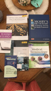 First Year Niagara College Practical Nursing Textbooks