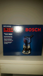 BRAND NEW UNTOUCHED BOSCH ROUTER KIT!!!
