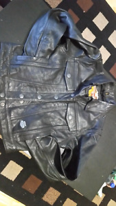 Harley Davidson Womens XS Leather Coat