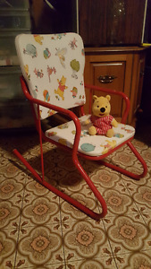 ROCKING CHAIR, DISNEY, WINNIE THE POOH