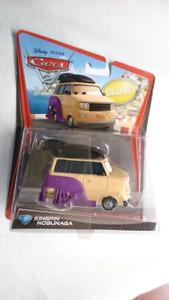DISNEY PIXAR CARS 2 KINGPIN NOBUNAGA SUMO WRESTLER DELUXE MINT