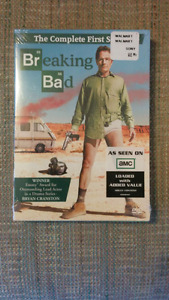 Breaking Bad the complete first season (New and sealed)