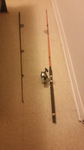 8 ft fishing rod and reel with 50lb line