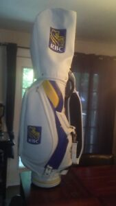 MASTERS CHAMPION MIKE WEIR HAS SIGNED THIS BAG!!