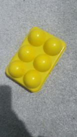 Kids eggs set in box
