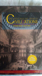"World History ""Heritage of World Civilizations"" incl free CD-ROM"