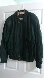 Green Suede Jacket Size 38
