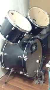 Drum set with chair