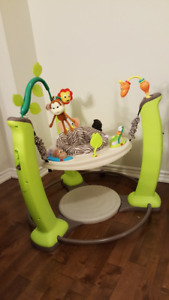 Mint Evenflo ExerSaucer Jump and Learn Jumper, Jungle Quest
