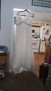 Wedding dress NEW PRICE