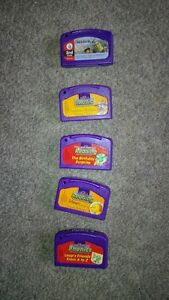 Leap Frog LeapPad, 6 Bools & 5 Cartridges Cambridge Kitchener Area image 2