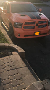 Dodge Ram 1500 ORANGE