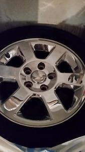 Jeep Commander wheels with Yokohama Geolander tires 245/65/17