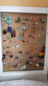 Variety of earings for sale