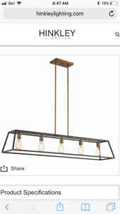 Luminaire Industriel Hinkley Fulton Industrial Light