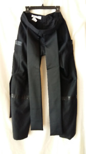 CoSTUME NATIONAL designer matrix black pants