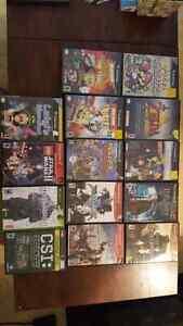Jeux vidéo PS2 XBOX GAMECUBE ET PC