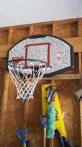 hanging basketball net
