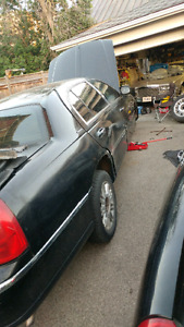 Parting out Lincoln Town Car