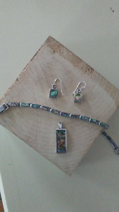 Gemstone and Sterling Silver jewelery