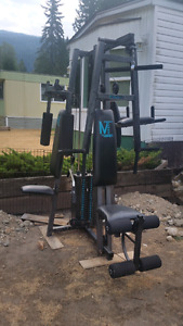 Small home gym/ weight set